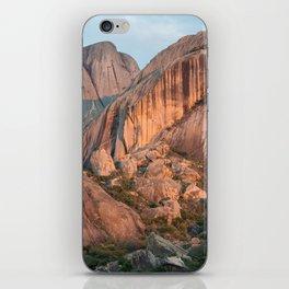 Sunset on Madagascar mountains iPhone Skin