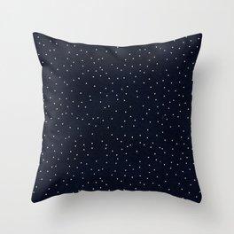 Beautiful Dark Dots Throw Pillow