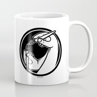 logo Mugs featuring Logo by Stephen Harris