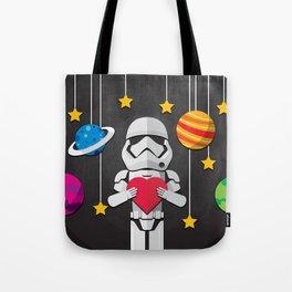 Stormtrooper in Love Tote Bag