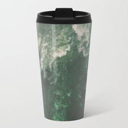 Green Seaside Travel Mug