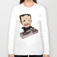 dj Long Sleeve T-shirts featuring DJ by Grime Lab