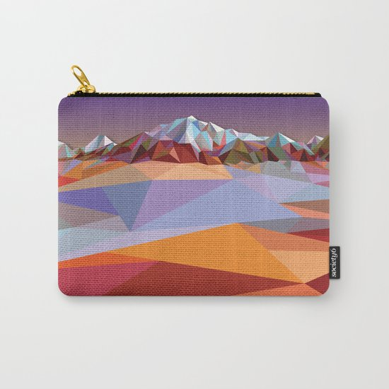 Night Mountains No. 23 Carry-All Pouch