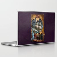 the goonies Laptop & iPad Skins featuring Goonies Never Say Die by Taylor Rose