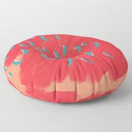Summer Confetti Floor Pillow