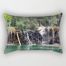 Hanging Lake Rectangular Pillow