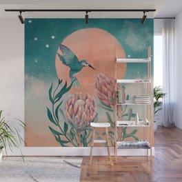 Moonlight blossom Wall Mural
