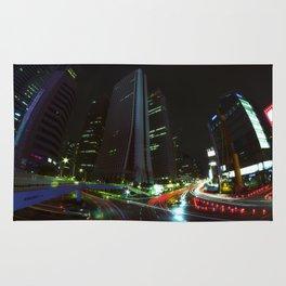 Nightfall in Tokyo Rug