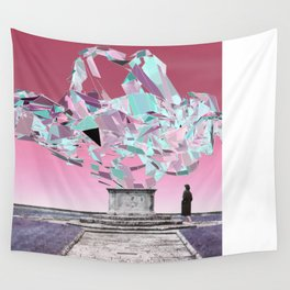 throw roses into the abyss Wall Tapestry