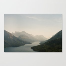 Scary Heights with Hazy Sights Canvas Print