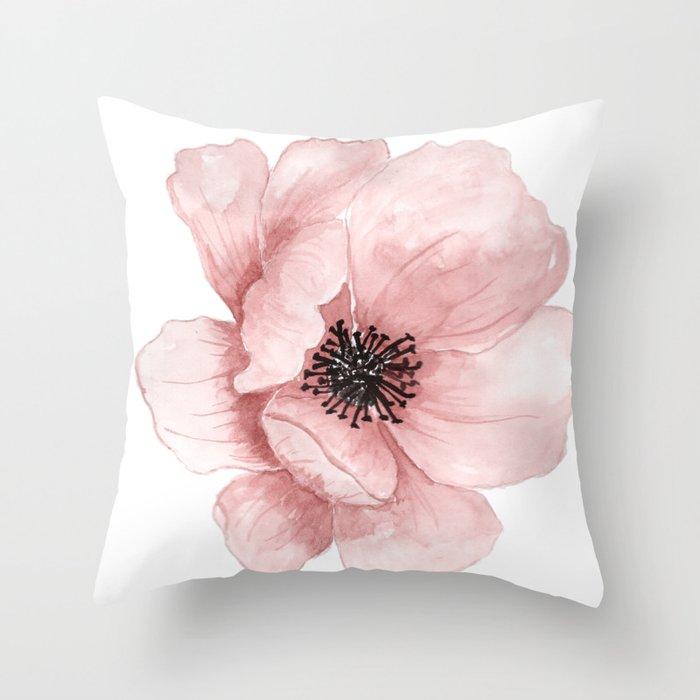 Flower 21 Art Throw Pillow