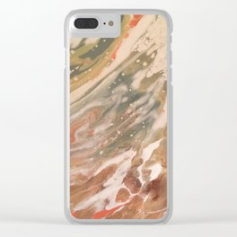 Moldy Marshmallow Clear iPhone Case