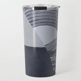 Streetart in Gray Travel Mug