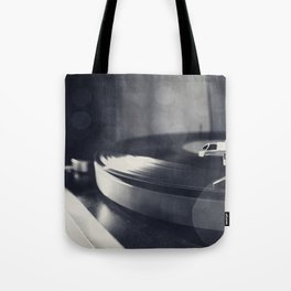 from time to time i like listening to an old record Tote Bag