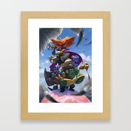 Wrong Place Framed Art Print