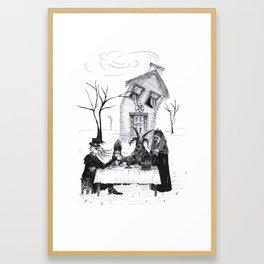 Tea For Four Framed Art Print