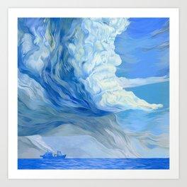 """""""Clouds #1"""" Art Print"""