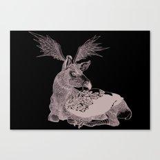 Cerf Volant Canvas Print