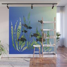 Designer Aquarium Fish Story Wall Mural