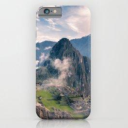 Mountain Peru iPhone Case