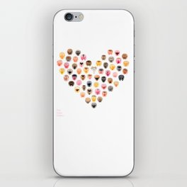 Vulva Heart - The Vulva Gallery iPhone Skin