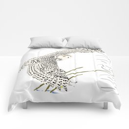 The Ungava Collection: The Snowy Owl Comforters