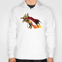 smaug Hoodies featuring Smaug by MarieJacquelyn