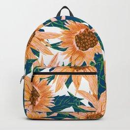 Blush Sunflowers Backpack