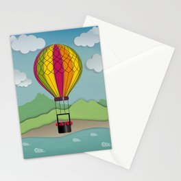 Balloon Aeronautics Sea & Sky Stationery Cards