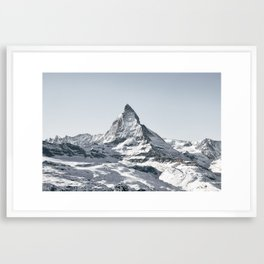 MATTERHORN Framed Art Print