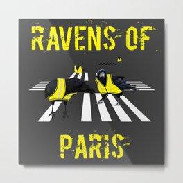 ravens of paris Metal Print