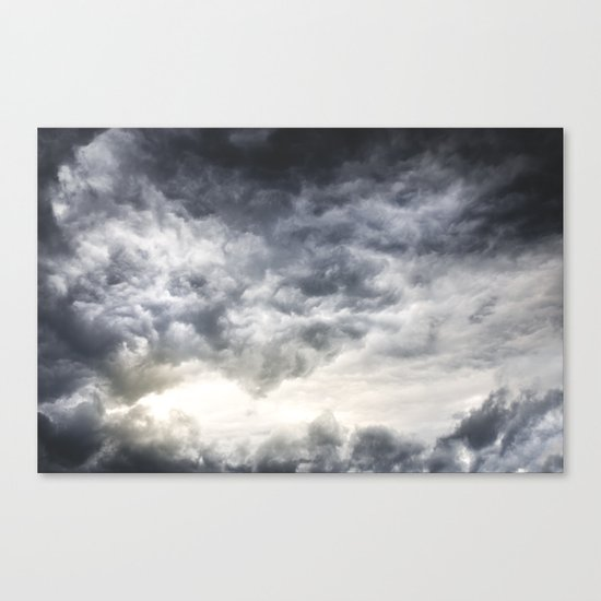 Cloudio di porno Canvas Print