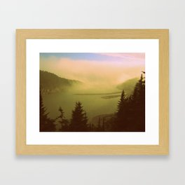 Maine today Framed Art Print