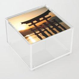 Itsukushima Shrine on Miyajima, Japan Acrylic Box