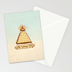 THE ALL SEEING 'ZA Stationery Cards