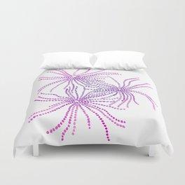 Sand Stars - Purple Duvet Cover
