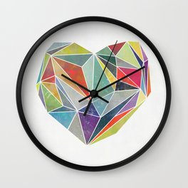 Heart Graphic 5 Wall Clock