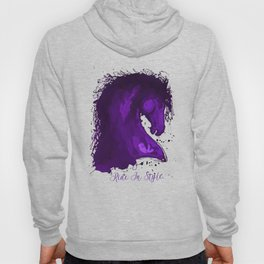 Ride In Style -  Equestrian Typography Design Hoody
