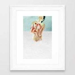Paint or Die Trying Framed Art Print