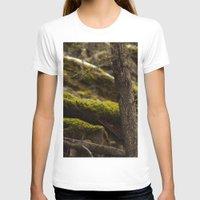 moss T-shirts featuring Moss by Dana E