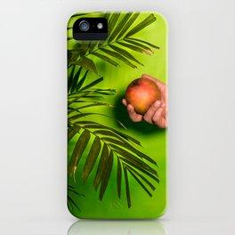 Mangos Bajitos iPhone Case