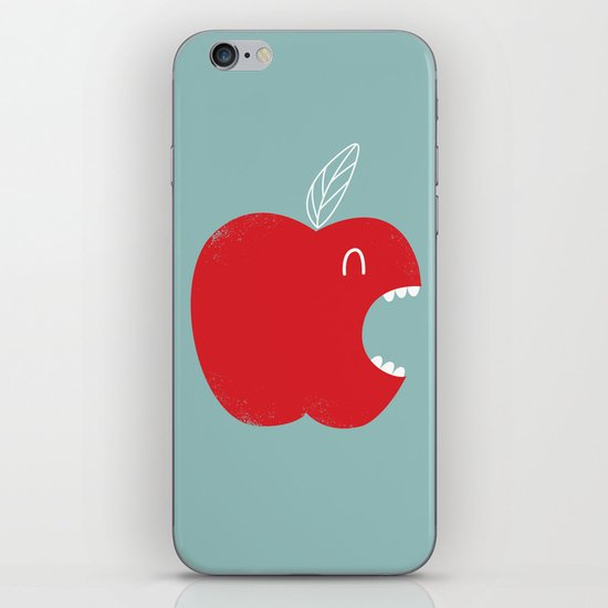 Who's biting who? iPhone & iPod Skin