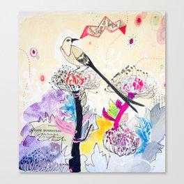 The Message - Protea Garden Range  Canvas Print