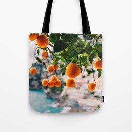 Amalfi Coast Oranges Tote Bag