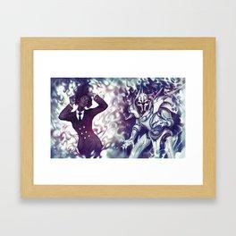 Zwielicht Framed Art Print