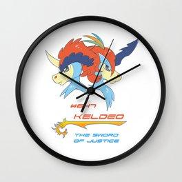 Keldeo Wall Clock