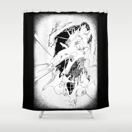 Graphics 010 Shower Curtain