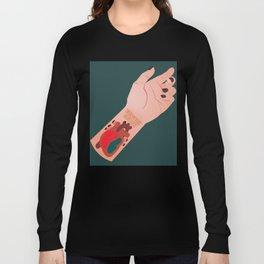 I Wear My Heart On My Sleeve Long Sleeve T-shirt