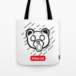 Kuma Bear Social Reality Tote Bag
