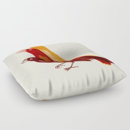 bad tweet Floor Pillow